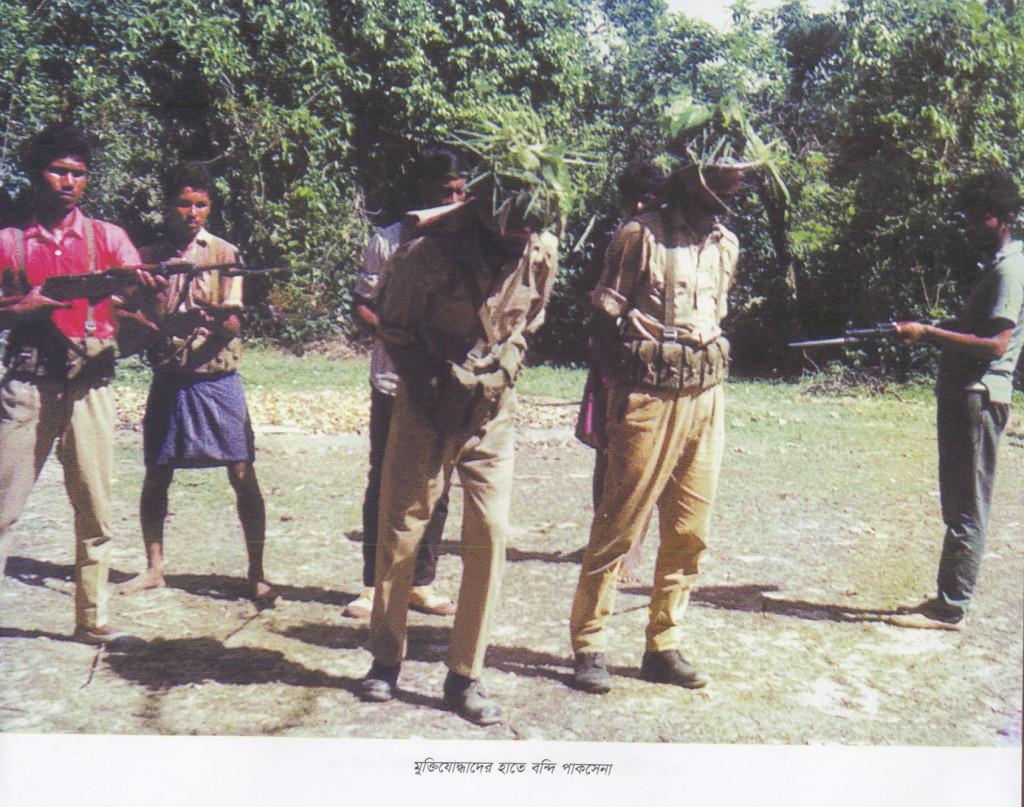 Paki captured by Mukti sena