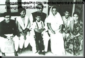 The Father of the Nation with the members of his family