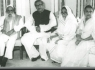 Bangabandhu with his parents and wife