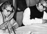 Indira Gandhi and Bangabandhu Sheikh Mujibur Rahman signing LBA in 1974